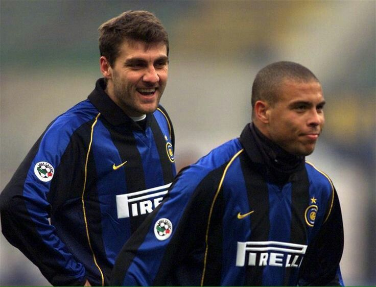 Ronaldo De Lima and Vieri
