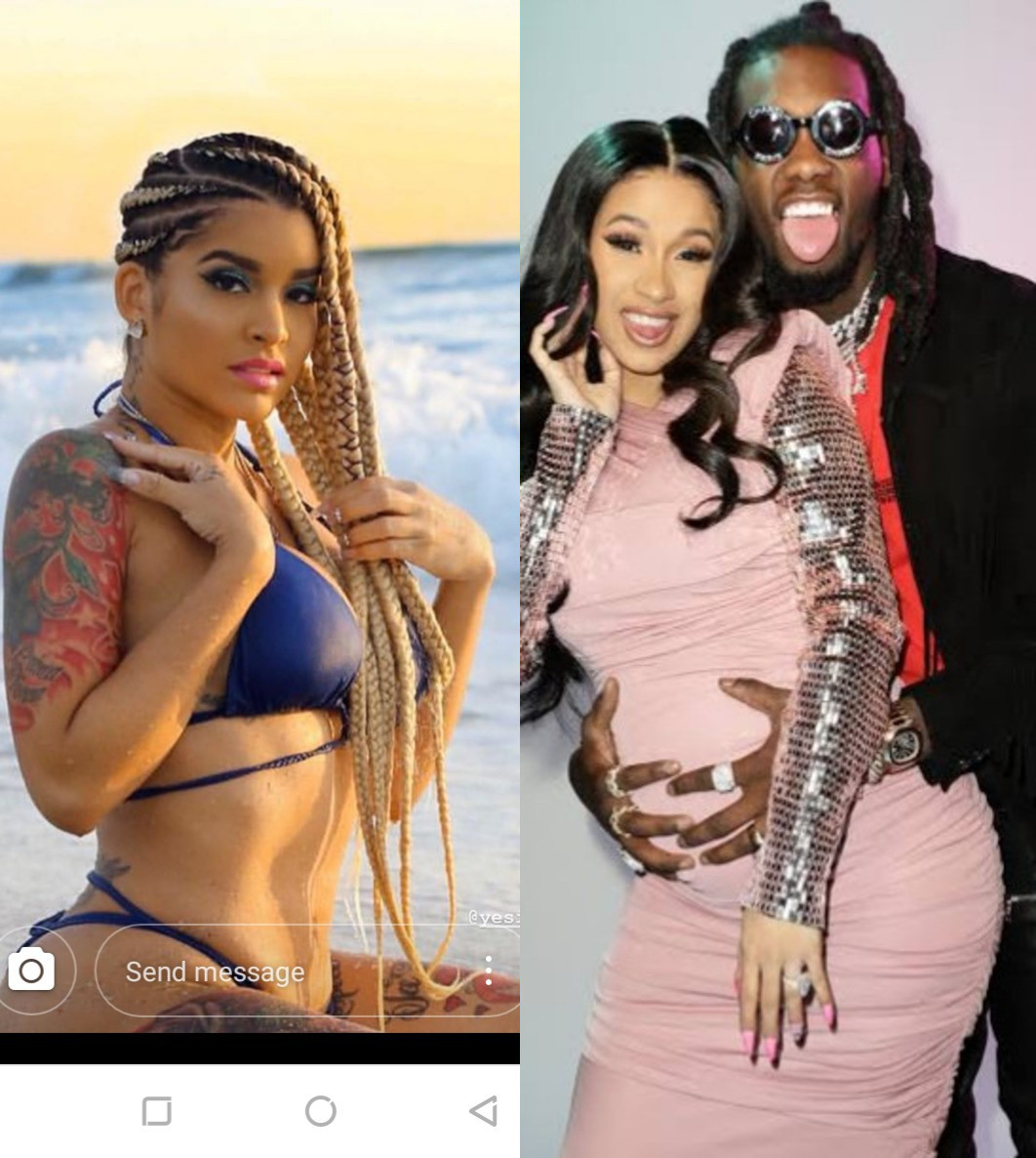 Shya L'amour, Offset and Cardi B