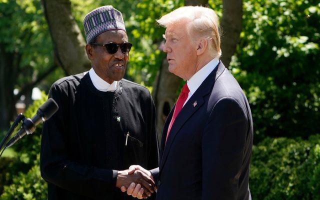 Donald Trump and Muhammadu Buhari
