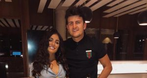 Harry Maguire and Fern Hawkins