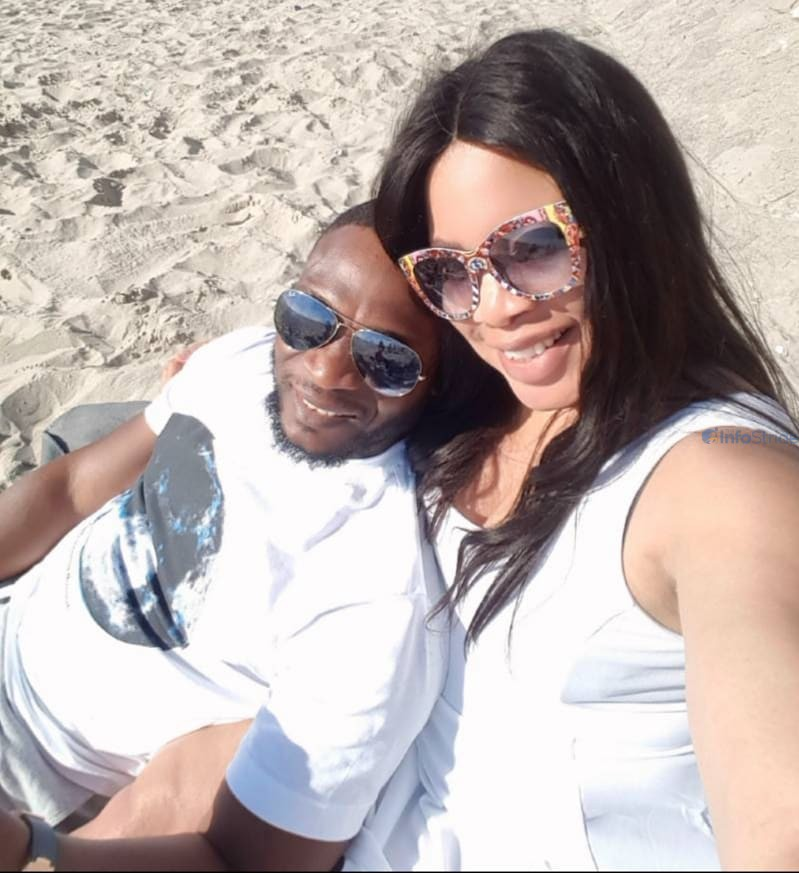 Monalisa Chinda and her husband
