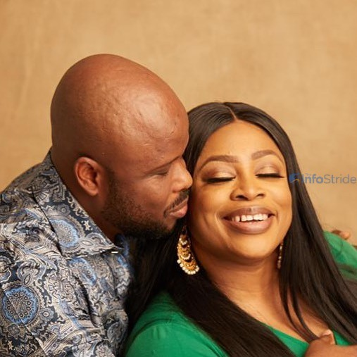 Sinach and her hubby