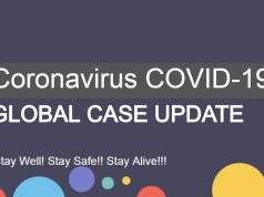 Coronavirus COVID-19 Global Case Update