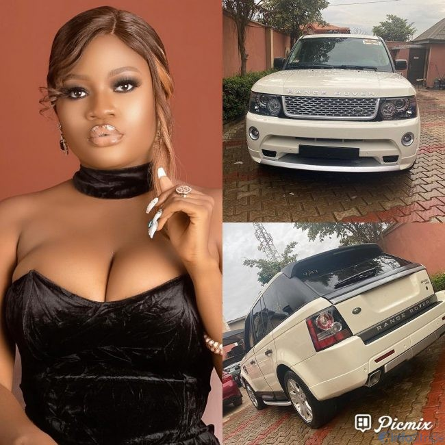 Nollywood's Bewaji's car
