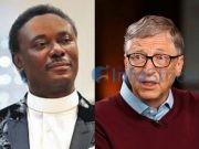 Bill Gates and Chris Okotie
