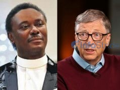 Bill Gates and Chris Okotie