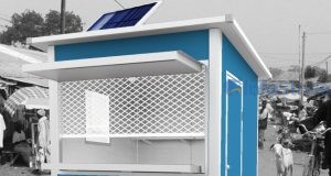 Eco-Friendly Solar-powered Kiosk