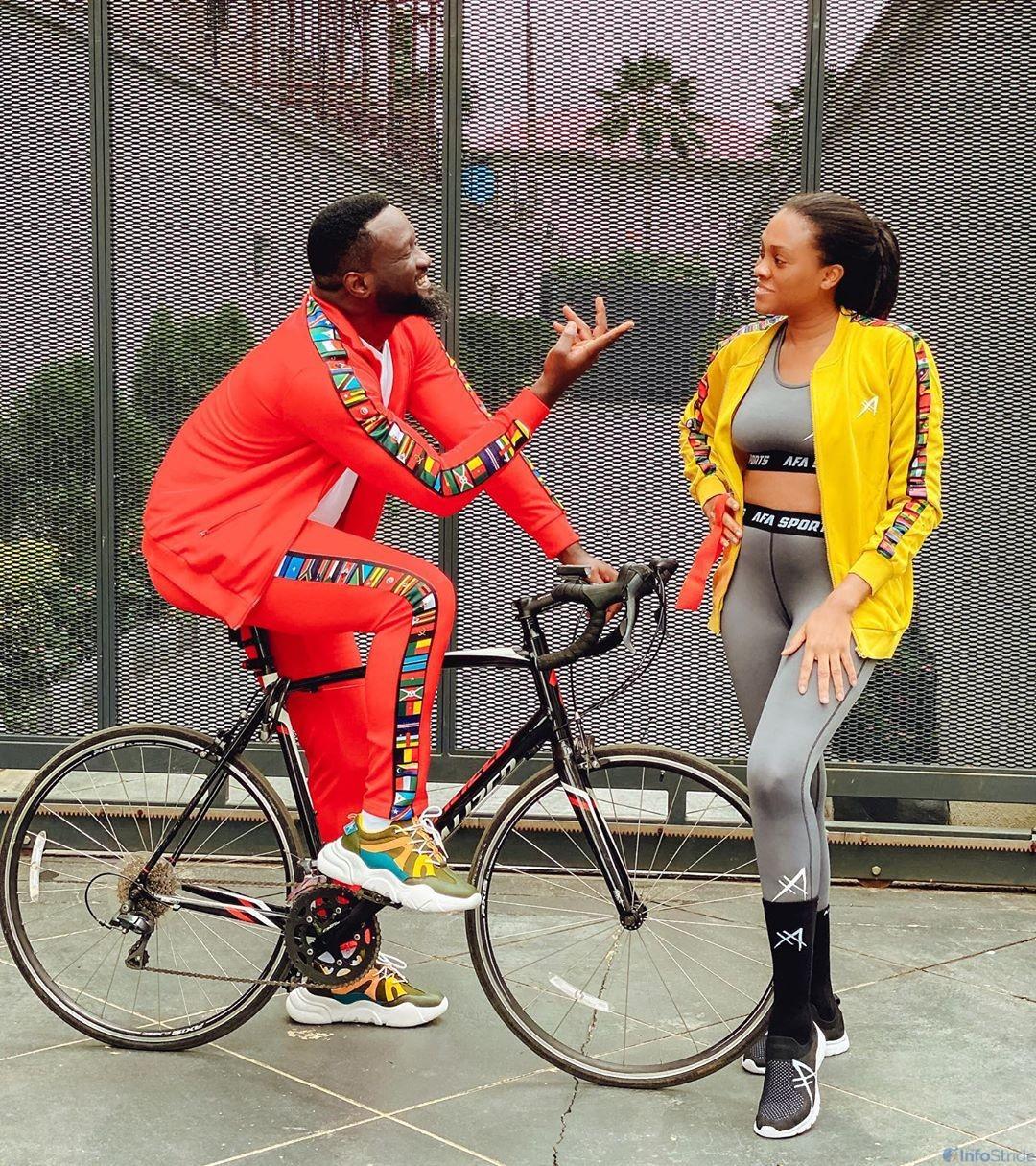 Jude Okoye and his wife, Ify Okoye