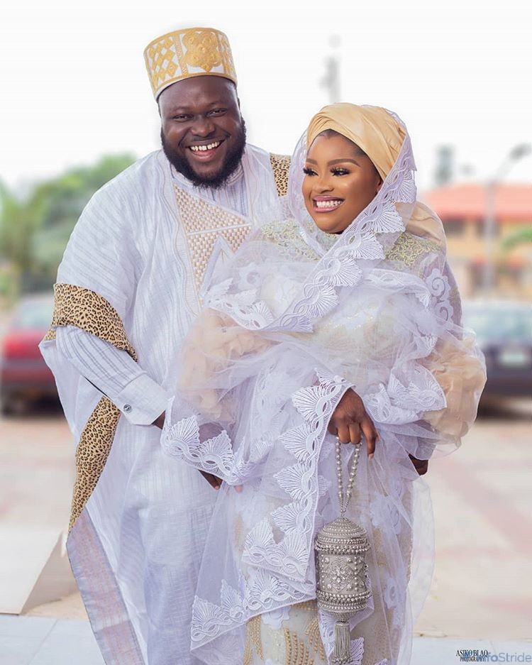 Olatoun Olanrewaju and her husband