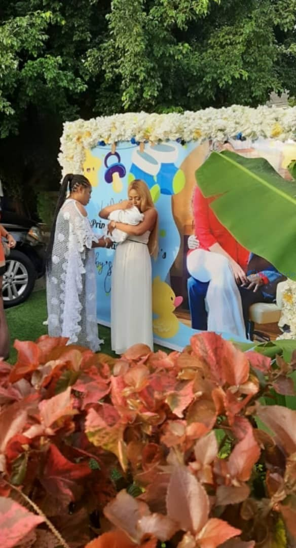 Regina Daniel's naming ceremony
