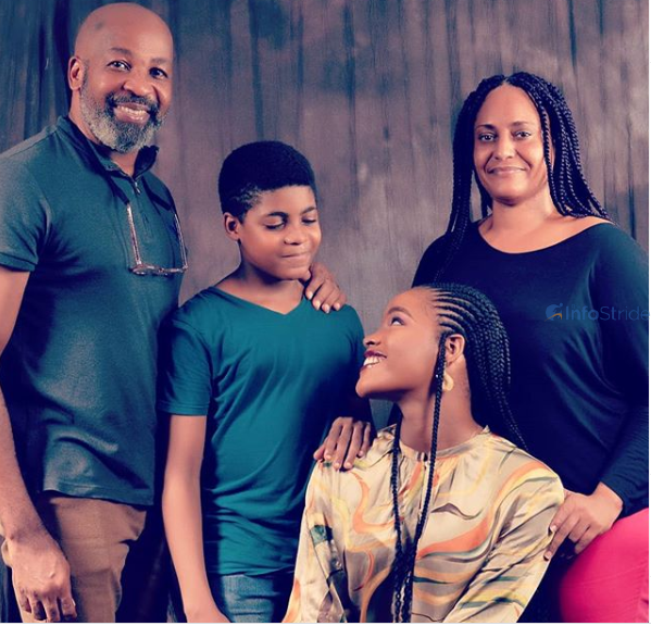 Yemi Solade and his family