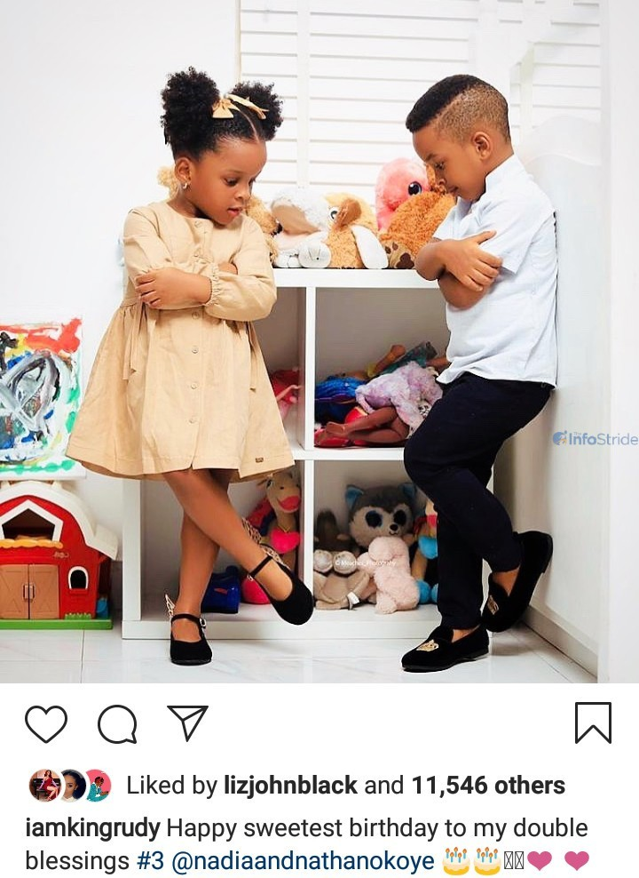 Paul Okoye's kids