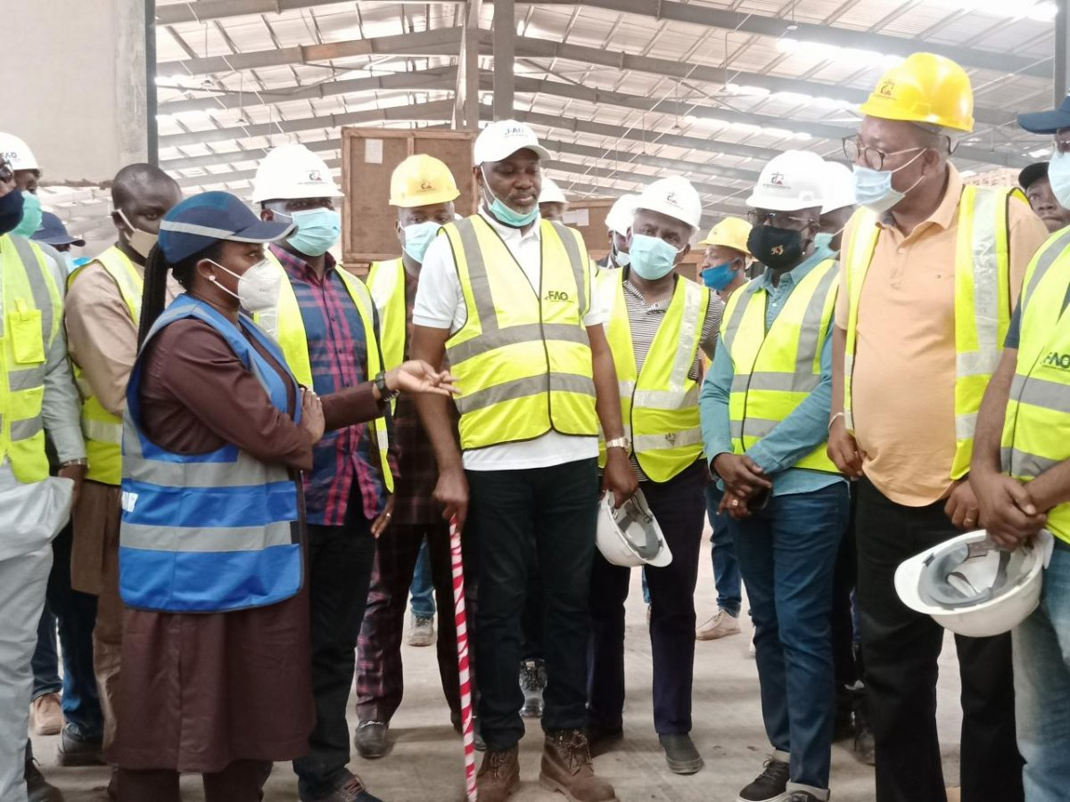 Inspection of Imota Rice Mill in Lagos State