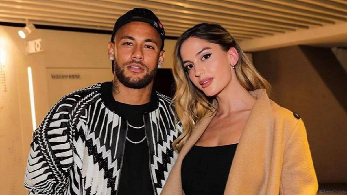 Neymar and Natalia Barulich