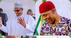 President Muhammadu Buhari (PMB) and Rotimi Amaechi and sign of their magical creation