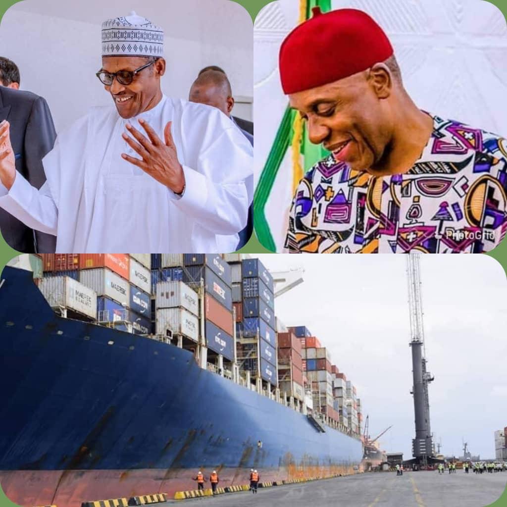 President Muhammadu Buhari (PMB) and Rotimi Amaechi and sign of their magical creation