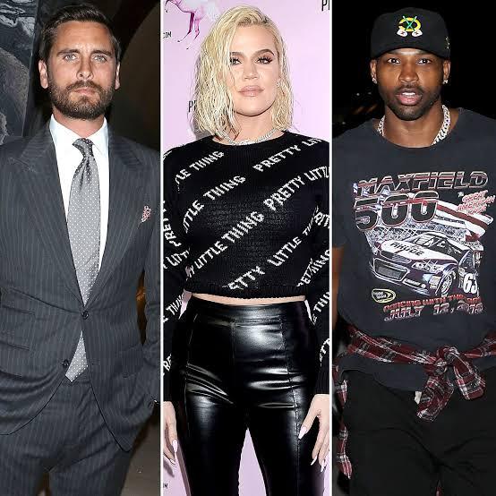 Khloe Kardashian, Tristan Thompson and Scott Disick