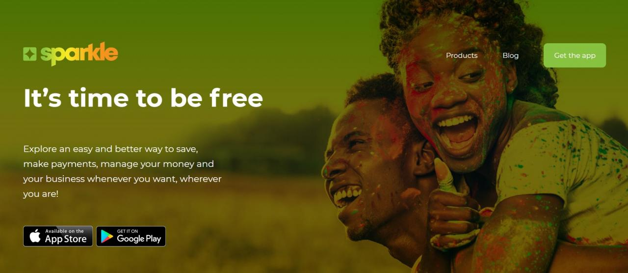 Sparkle Nigeria Its time to be free