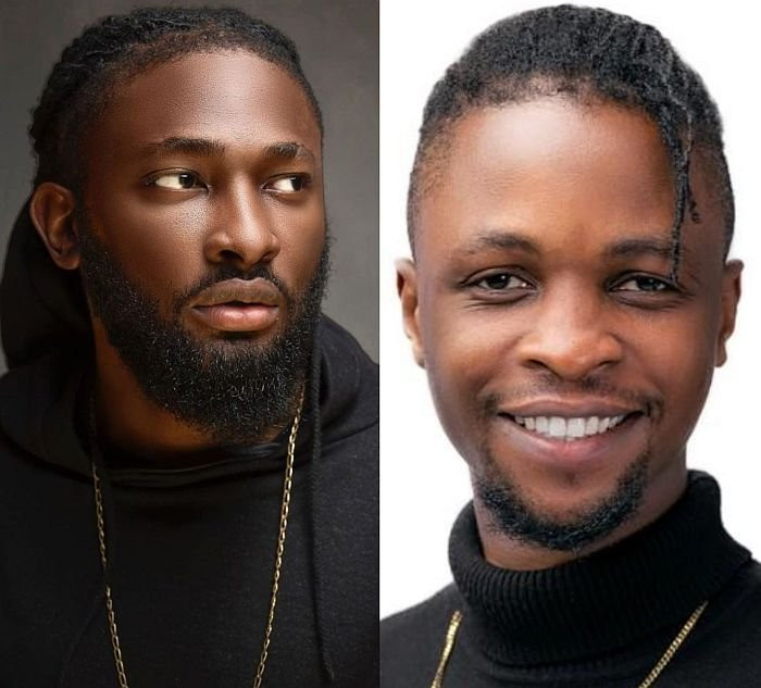 Uti Nwachukwu and BBNaija Laycon
