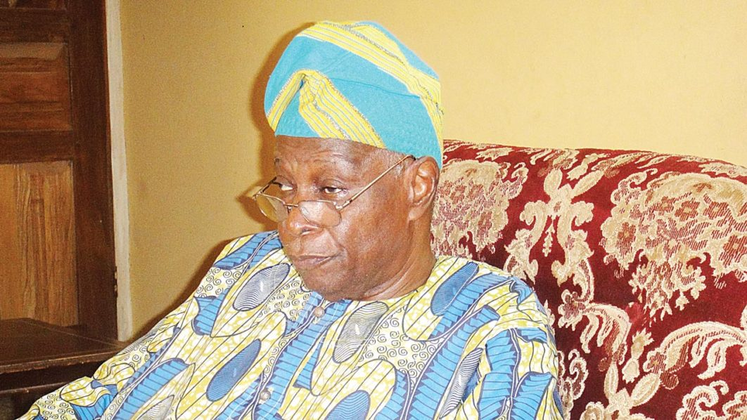 Elder Stateman Chief Olu Falae