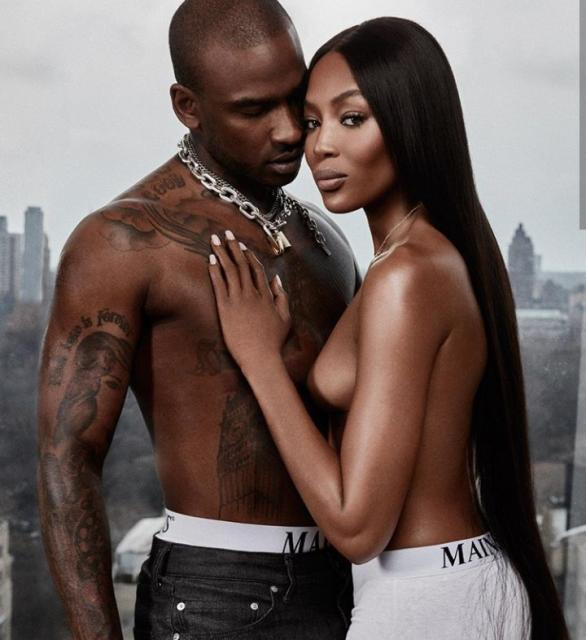 Naomi Campbell and Skepta