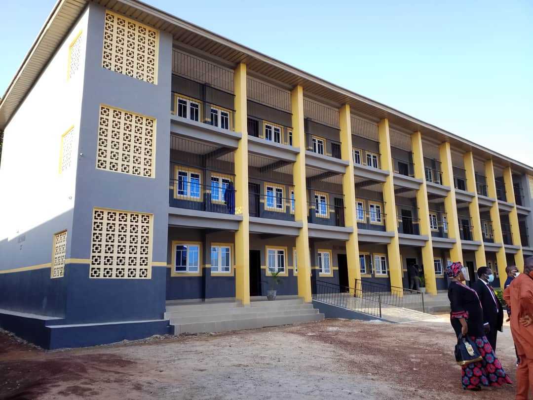 New education block at Ekulu Primary School
