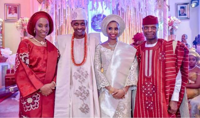 Yemi Osinbajo and family