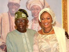 Senator Oluremi Tinubu and the family