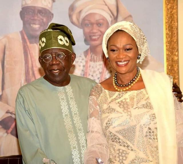 Senator Oluremi Tinubu and the family
