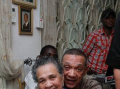 Ben Murray Bruce and his mother