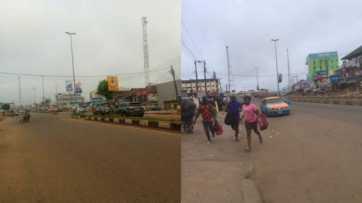 Disturbing Gunshots In Akure As APC And PDP Clash
