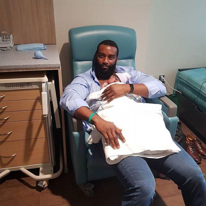 Dominic Mudabai and his son