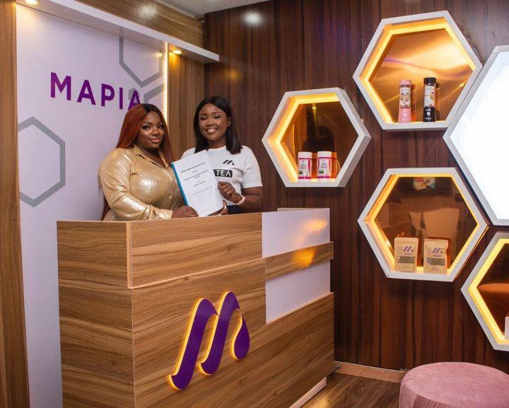 BBNaija Dorathy and Mapia Tea