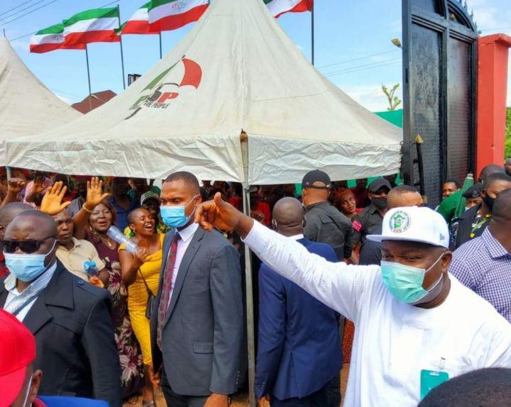 Ebonyi State Governor, H.E Ifeanyi Ugwuanyi