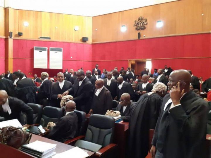 Edo 2020 Governoship Tribunal Sitting