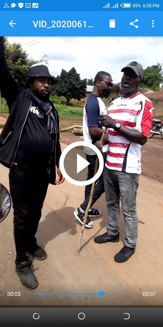 Video of Illegal Custom and Police Officers