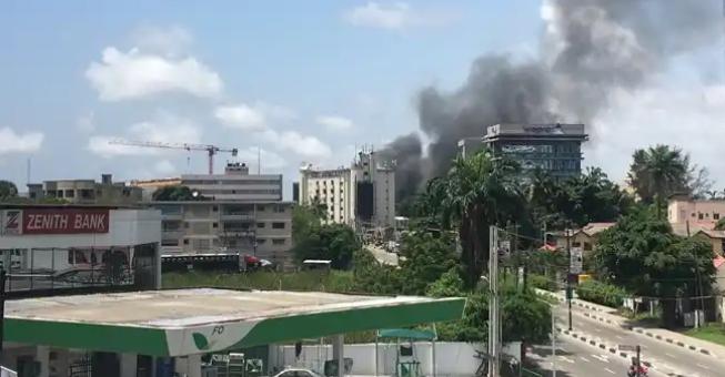 Ikoyi Prison On Fire