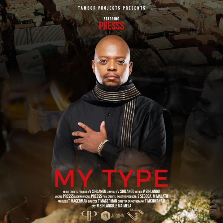 Multi-Talented Singer and Songwriter, Presss officially releases a brand new single titled 'My Type'