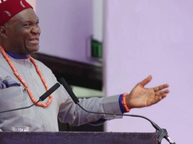 Ohanaeze Ndigbo President General, Chief Nnia Nwodo