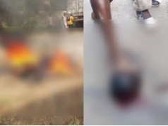 Police Burnt And Beheaded
