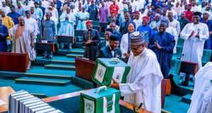 President Muhammadu Buhari At The Budget Presentation