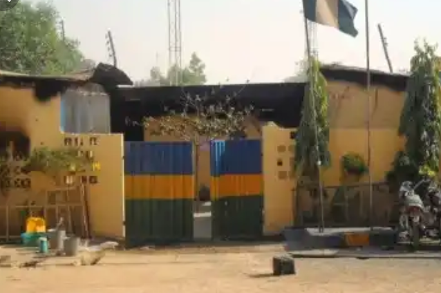 Nigerian Police Station