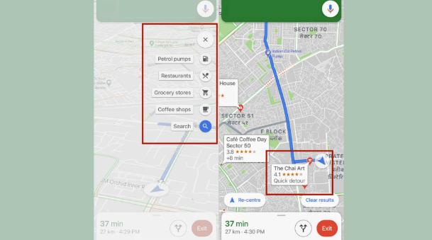 Navigation Route