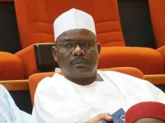 Chairman of the Senate Committee, Ali Ndume (Borno South - APC)
