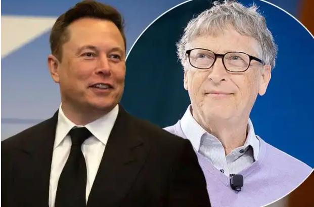 Elon musk And Bill Gate