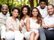 Kirk Franklin and his family