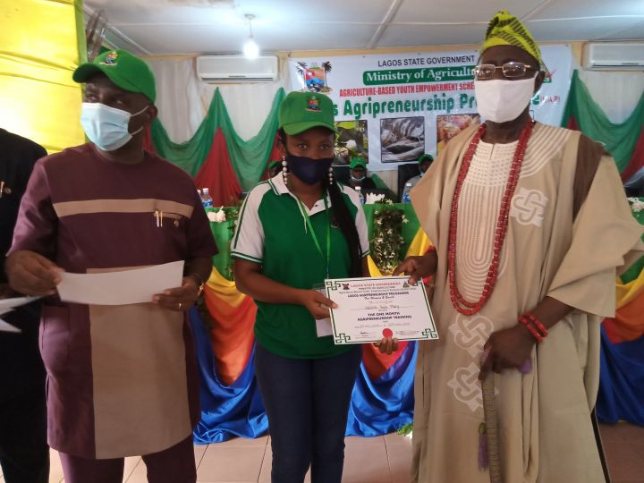 Lagos graduates 100 Women and Youth Farmers at the State Agripreneurship Programme