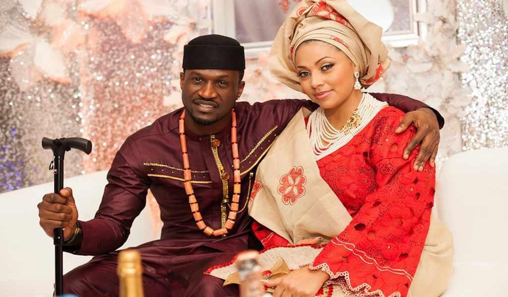 Peter Okoye and Lola Omotayo