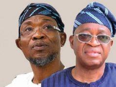 Rauf Aregbesola and Gboyega Oyetola-