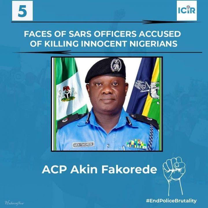 SARS Officer Accused of Killing Innocent Nigerians - ACP Akin Fakorede